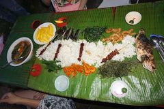 Boodle fight Stock Images