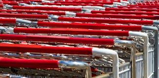 Boodschappenwagentjes Royalty-vrije Stock Foto's