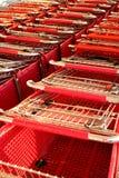 Boodschappenwagentjes Stock Fotografie