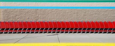 Boodschappenwagentjes Royalty-vrije Stock Fotografie