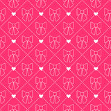 Boog naadloos patroon Prinsesreeks Royalty-vrije Stock Afbeeldingen