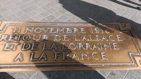 Boog Triomphe Parijs Parigi Royalty-vrije Stock Afbeelding