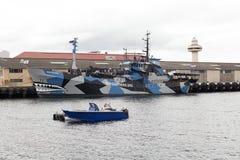 Boog van boot Stock Fotografie