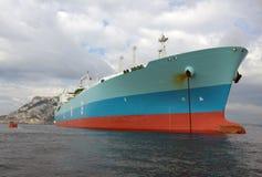 Boog van ca van de tanker ruwe olie Stock Foto's