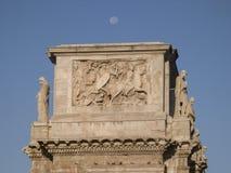 Boog van Constantine, Rome, Italië Royalty-vrije Stock Foto's