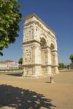 Boog van Germanicus, Saintes, Frankrijk Stock Foto