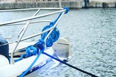 Boog van luxeboot Royalty-vrije Stock Afbeeldingen
