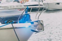 Boog van luxeboot Royalty-vrije Stock Foto