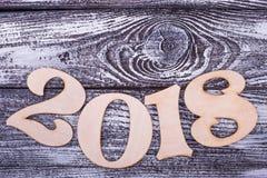 Boog van nummer 2018 Royalty-vrije Stock Foto's
