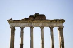 Boog van oud forum van Rome Stock Fotografie