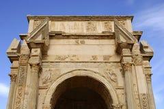 Boog van Septimus Severus royalty-vrije stock fotografie
