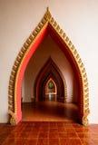Boog van tempel in Thailand Stock Foto's