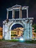 Boog van Tempel van Olympian Zeus Royalty-vrije Stock Foto