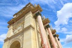 Boog van triomf - Parijs royalty-vrije stock afbeelding