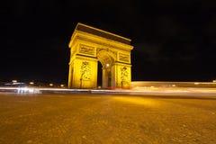 Boog van Triomf 01, Parijs, Fr Stock Foto's