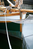 Boog van varend schip royalty-vrije stock foto's