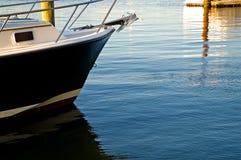 Boog van zeilboot royalty-vrije stock foto's