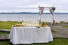 Boog voor huwelijk Royalty-vrije Stock Fotografie