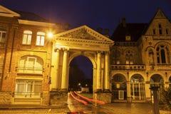 Boog in Ypres Stock Foto's