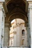 Boogbasiliek van St Peter Vatican Stock Fotografie
