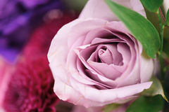 Boogelement met bloemen voor huwelijksdecoratie Stock Foto's