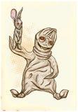 Boogey - dibujo de la mano, vector Imágenes de archivo libres de regalías