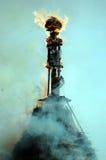 boogg καίγοντας Στοκ Φωτογραφία