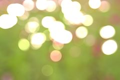 Bokeh light with celebration in the Festival of Happines. Boogie light with celebration in the Festival of Happiness with green background Royalty Free Stock Image