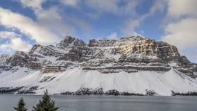 Boogmeer, het Nationale Park van Banff stock video