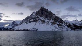 Boogmeer, het Nationale Park van Banff stock videobeelden