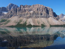 Boogmeer in Jasper National Park royalty-vrije stock foto