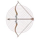 Boogschieten Vector Illustratie
