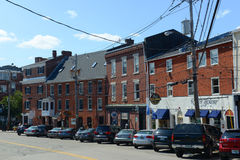 Boogstraat, Portsmouth, New Hampshire Stock Fotografie