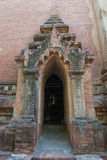 Boogtempel in Bagan Royalty-vrije Stock Fotografie