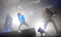 Boogvijand op de concertzaal 2012 van Barcelona Razzmatazz Overgenomen foto: 27 oktober, 2012 Stock Afbeeldingen