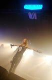 Boogvijand op de concertzaal 2012 van Barcelona Razzmatazz Overgenomen foto: 27 oktober, 2012 Stock Foto's