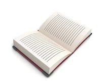 book öppet vektor illustrationer