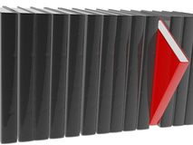 Book. High res 3d rendering. 3d, books, concepts royalty free illustration