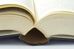 Book. An open book with pages Royalty Free Stock Photo