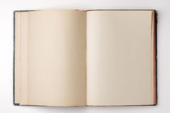 Book. An open book - blank pages Royalty Free Stock Photography