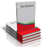 Book. An illustration of an book as a design template Royalty Free Stock Photography