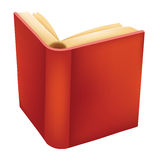 Book. Illustration of a book isolated in white. An additional Vector .Ai file available