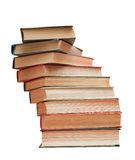 Book. S stack isolated on white background royalty free stock image