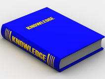 Book. Very beautiful three-dimensional illustration. book Knowledge. 3d Royalty Free Stock Photos