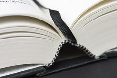 Book. Close up of a book with a ex-libris Royalty Free Stock Photos