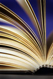 Book. A book and a creative color lighting royalty free stock images