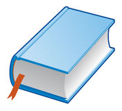 Book. Vector illustration Isolated blue book Stock Illustration