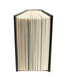 Book. The open book on a white background Royalty Free Stock Images