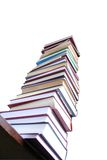 Book. Much books on the table Royalty Free Stock Images