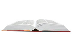 Book. One book on the white Stock Images